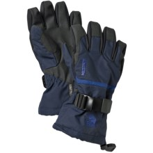 Hestra CZone Gauntlet Gloves - Waterproof, Insulated (For Little and Big Kids) in Blue - Closeouts