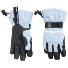 Hestra CZone Gauntlet Gloves - Waterproof, Insulated (For Little and Big Kids) in Light Blue/White - Closeouts