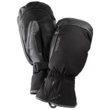 Hestra CZone Mittens - Waterproof, Insulated (For Men and Women) in Black/Grey - Closeouts