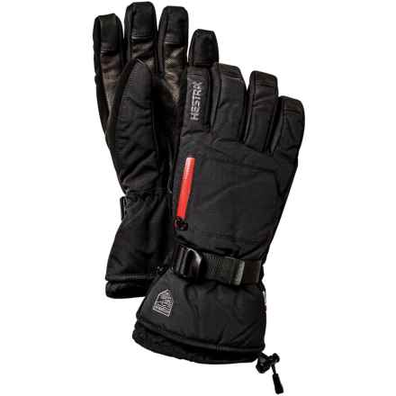 Hestra CZone Pointer Gloves - Waterproof, Insulated (For Men and Women) in Black - Closeouts