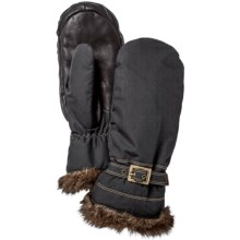 Hestra Female Winter Forest PrimaLoft® Mittens - Waterproof, Insulated (For Women) in Black - Closeouts