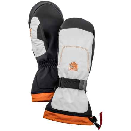 Hestra Gauntlet Sr. Mittens - Waterproof, Insulated (For Men) in Ivory/Ivory - Closeouts