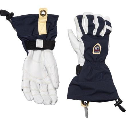 525a0c539 Hestra Heli Ergo Grip Ski Gloves - Waterproof (For Men) in Navy/Off