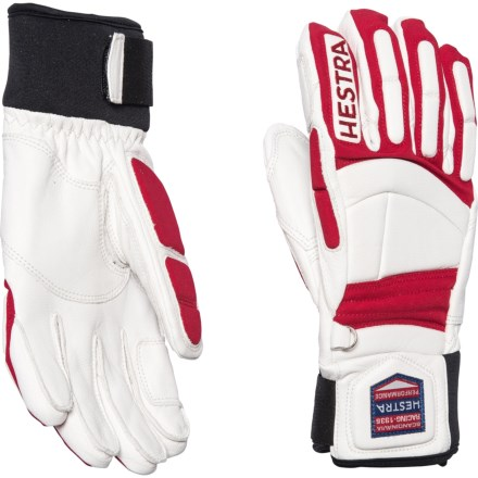 79d156ae7 Hestra Impact Racing SR Ski Gloves - Goat Leather, Insulated (For Men) in