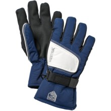 Hestra Isaberg CZone Jr. Gloves - Waterproof, Insulated (For Little and Big Kids) in Blue/White - Closeouts