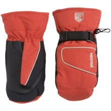 Hestra Isaberg CZone Mittens - Waterproof, Insulated (For Little and Big Kids) in Red - Closeouts