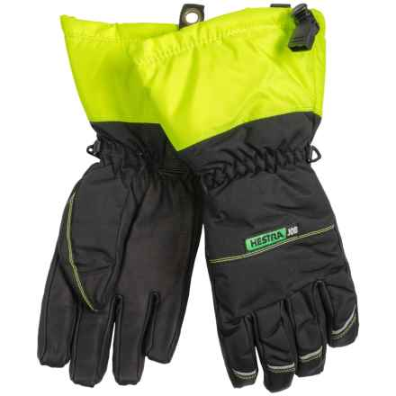 Hestra JOB C-Zone Pro Gloves - Waterproof, Insulated (For Men) in Black/Green - Closeouts