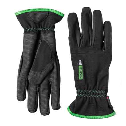 Hestra Palladium CZone® Gloves - Waterproof (For Men and Women) in Green/Grey/Black - Closeouts