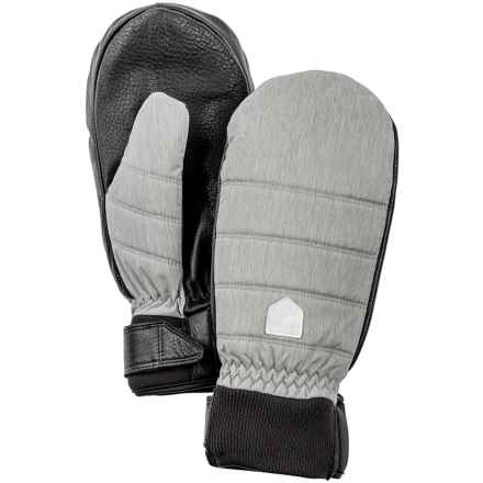 Hestra PrimaLoft® CZone® Mittens - Waterproof, Insulated (For Women) in Light Grey - Closeouts