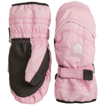Hestra PrimaLoft® Mittens - Waterproof, Insulated (For Little and Big Kids) in Pink/Ivory - Closeouts