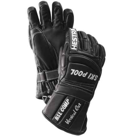 Hestra RSL Comp Vertical Cut Gloves - Insulated (For Little and Big Kids) in Black - Closeouts