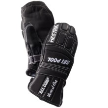 Hestra RSL Comp Vertical Cut Mittens - Insulated (For Little and Big Kids) in Black - Closeouts
