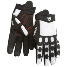 Hestra Trailer Cycling Gloves (For Men and Women) in Black/White - Closeouts