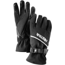 Hestra Windstopper® Action Gloves - Insulated (For Men and Women) in Black - Closeouts