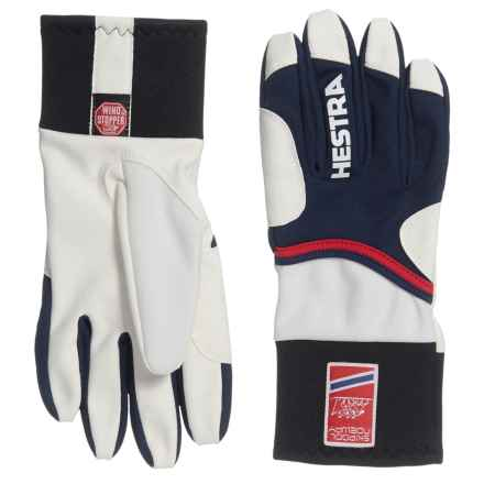 Hestra Windstopper® Action Racing Gloves (For Women) in Navy/Red - Closeouts