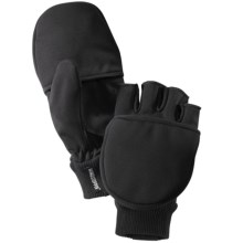 Hestra Windstopper® Mittens - Waterproof, Fleece Lined (For Men and Women) in Black - Closeouts