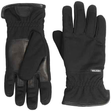 Hestra Windstopper® Taifun PrimaLoft® Gloves (For Men) in Black - Closeouts