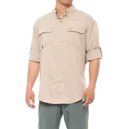 Heybo Boca Grande Fishing Shirt - UPF 30, Long Sleeve (For Men) in Khaki - Closeouts