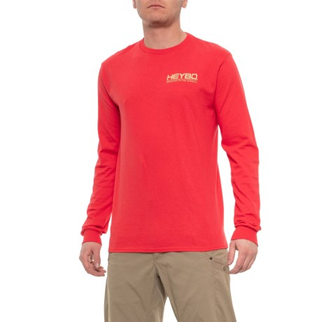 7a939d886 Heybo Decoys T-Shirt - Long Sleeve (For Men) in Salmon