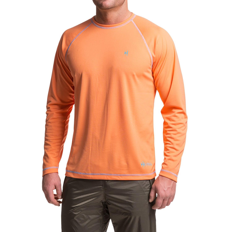 Heybo high performance t shirt for men save 62 for Men s upf long sleeve shirt