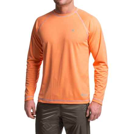 Heybo High-Performance T-Shirt - UPF 30, Long Sleeve (For Men) in Melon - Closeouts