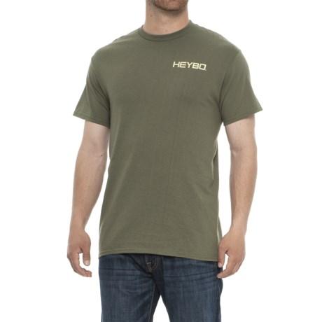 Heybo Original Pointer Shirt - Short Sleeve (For Men) in Moss