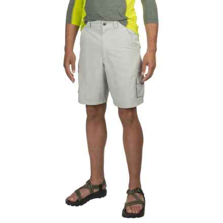 HEYBO The Flats Cargo Shorts (For Men) in Highrise Grey - Closeouts