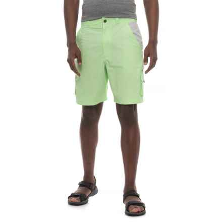 Heybo The Flats Cargo Shorts (For Men) in Patina Green - Closeouts