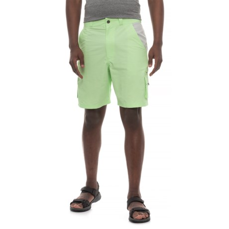 Heybo The Flats Cargo Shorts (For Men) in Patina Green