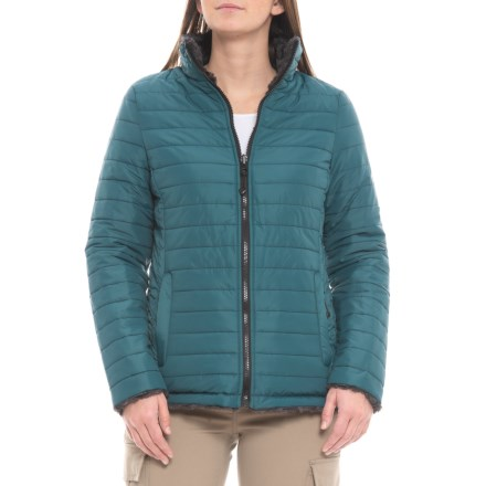4a3203ae8e0aa HFX Kenzie Reversible Quilted Jacket - Insulated (For Women) in Teal -  Closeouts