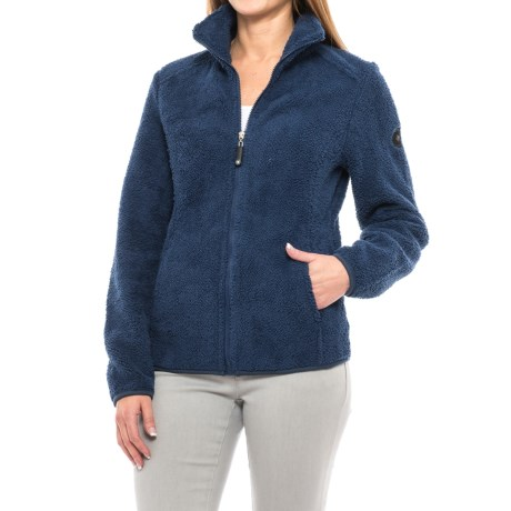 HFX Sherpa Fleece Jacket - Full Zip (For Women)