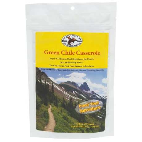 Hi Mountain Jerky Green Chili Casserole in See Photo