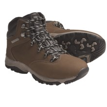 Hi-Tec Altitude Glide Hiking Boots - Waterproof (For Women) in Smokey Brown - Closeouts
