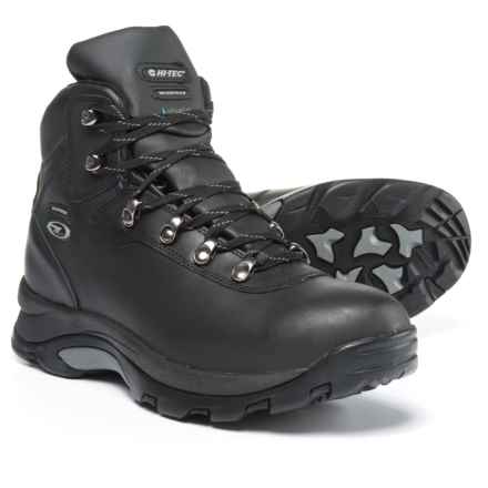 Hi-Tec Altitude IV Hiking Boots - Waterproof (For Men) in Black - Closeouts