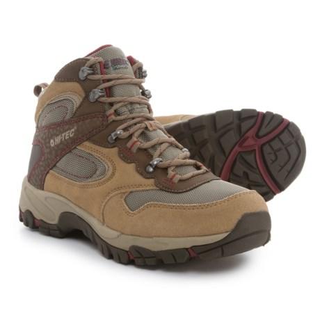 Hi-Tec Altitude Lite Hiking Boots - Waterproof (For Women) in Honey/Brown/Port