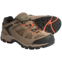 Hi-Tec Altitude Lite I Low Hiking Shoes - Waterproof, Suede (For Men) in Smokey Brown/Taupe/Red Rock - Closeouts