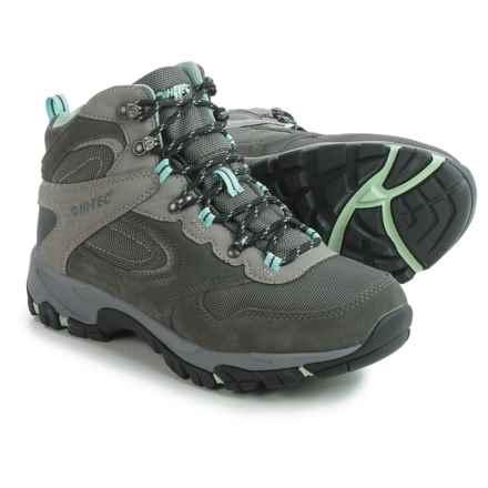 Hi-Tec Altitude Lite i-shield® Hiking Boots - Waterproof (For Women) in Charcoal/Grey/Lichen - Closeouts