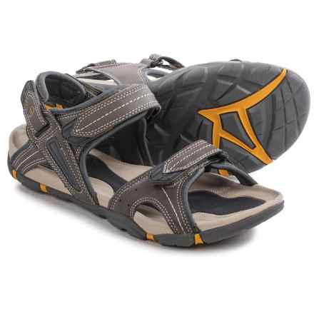 Hi-Tec Altitude Lite Strap Sandals (For Men) in Olive/Gold - Closeouts