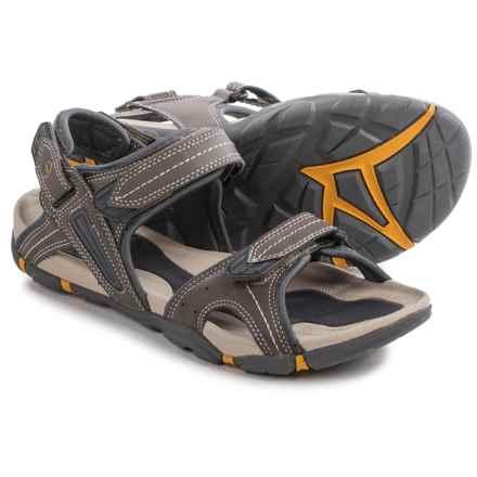 Hi-Tec Altitude Lite Strap Sandals (For Men) in Olive/Gold - Closeouts