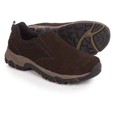 Hi-Tec Altitude Moc Shoes - Suede, Slip-Ons (For Men) in Dark Chocolate - Closeouts