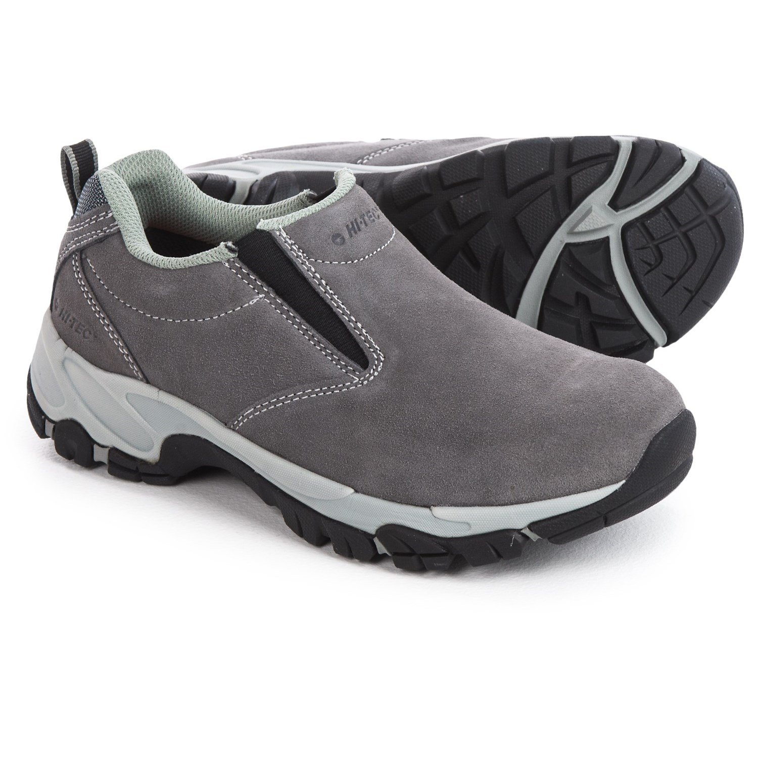 Hi Tec Altitude Moc Suede Shoes Slip Ons For Women In