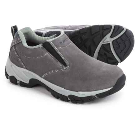 Hi-Tec Altitude Moc Suede Shoes - Slip-Ons (For Women) in Blue Moon - Closeouts