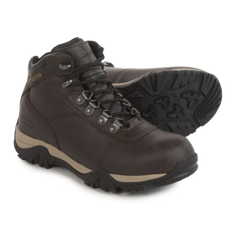 Hi-Tec Altitude V Hiking Boots - Waterproof (For Big Kids) in Dark Chocolate