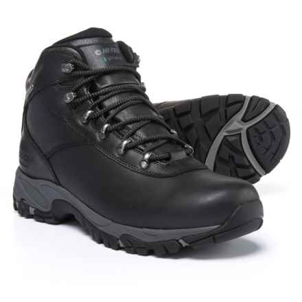 Hi-Tec Altitude V Hiking Boots - Waterproof (For Men) in Black/Charcoal - Closeouts
