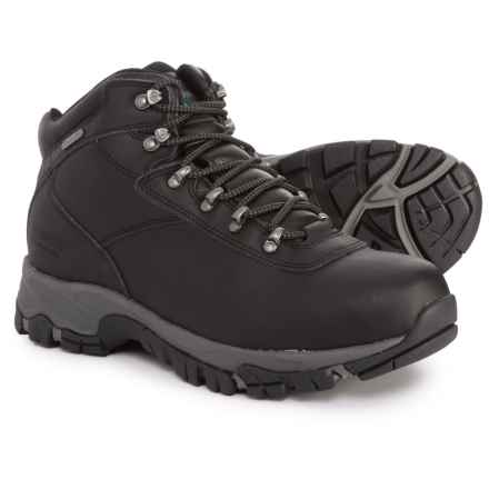 Hi-Tec Altitude V Hiking Boots - Waterproof (For Men) in Black/Grey - Closeouts