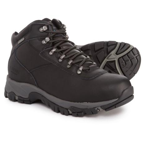Hi-Tec Altitude V Hiking Boots - Waterproof (For Men) in Black/Grey