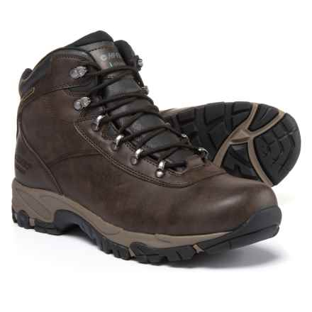 Hi-Tec Altitude V Hiking Boots - Waterproof (For Men) in Dark Chocolate/Taupe/Black - Closeouts