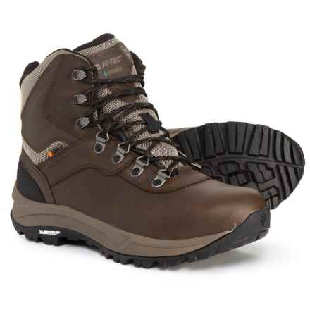 Hi-Tec Altitude VI Chill Hiking Boots - Waterproof, Insulated (For Men) in Chocolate - Closeouts