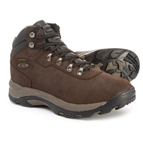 4ba03b60b3287c Hi-Tec Altitude VI Hiking Boots - Waterproof (For Men) in Dark Chocolate