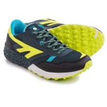 Hi-Tec Badwater Trail Running Shoes (For Men) in Night/Lime/Aqua - Closeouts
